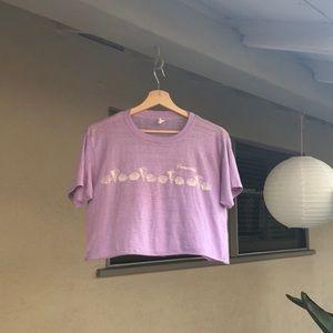 ▪️purple vintage t shirt▪️sarasota florida lilac